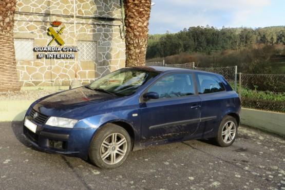 Recuperan en Cuntis un vehículo subtraído en Asturias