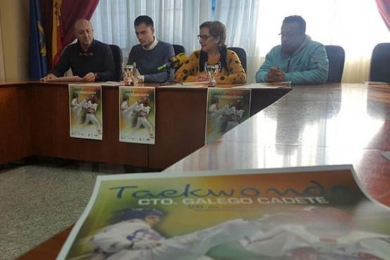 Presentación do Campionato Galego Cadete de Taekwondo