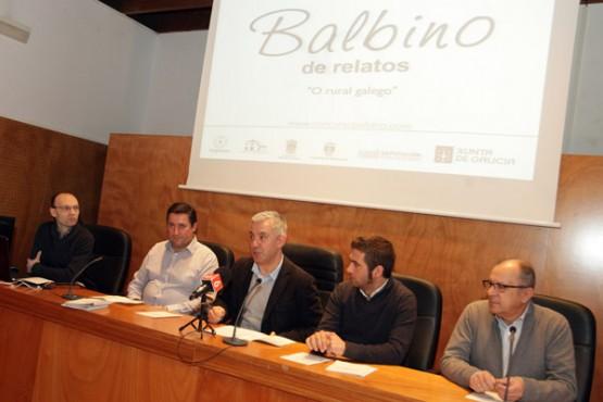 """Presentación da 2ª edición do Concurso """"Balbino"""" de Relatos. Foto: C. Paz"""
