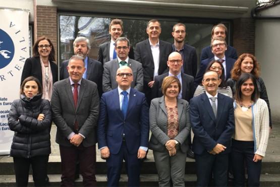 Manuel Baltar preside o Consello Político dos gobernos provinciais de Europa en Bruxelas