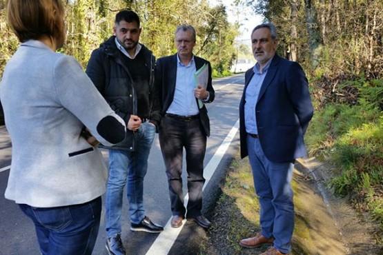 Cores Tourís na visita ao concello de Rosal