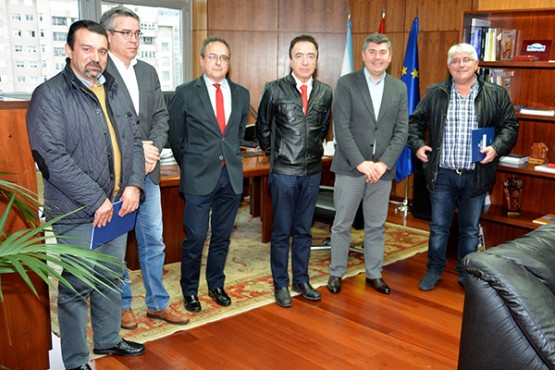 Ovidio Rodeiro na reunión cos alcaldes