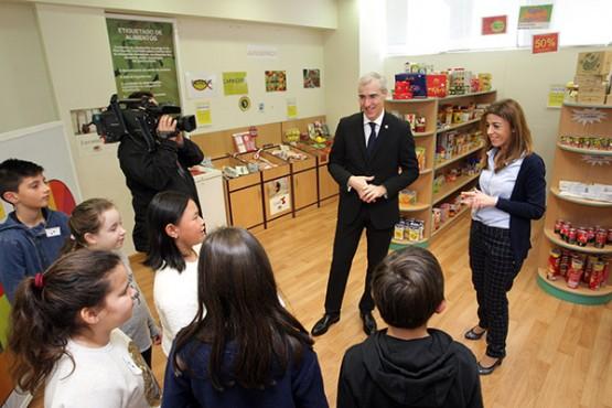 Francisco Conde na Escola Galega de Consumo