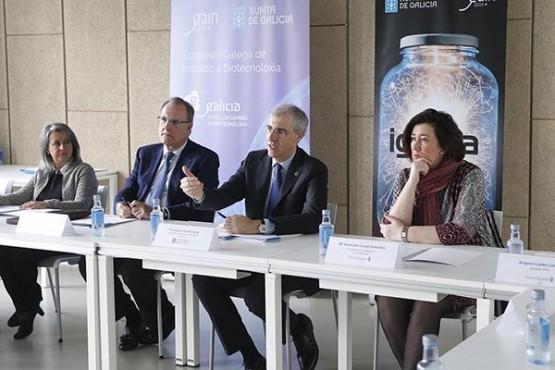 Francisco Conde na presentación dos proxectos seleccionados para Ignicia. Foto: X. Crespo