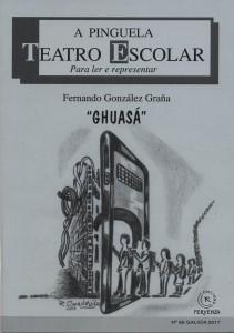 """Fernando González Graña presenta en Cuntis a súa última obra teatral,  """"Ghuasá"""""""