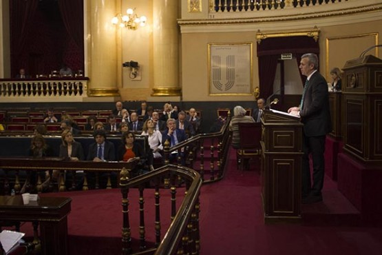 Intervención de Alfonso Rueda no Senado