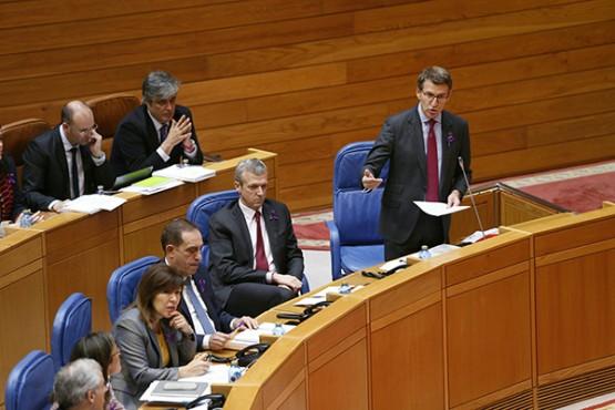 Intervención do presidente da Xunta no Parlamento