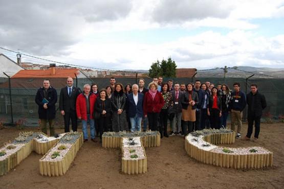 Marisol Díaz Mouteira clausura o obradoiro de xardinería en terras de Celanova