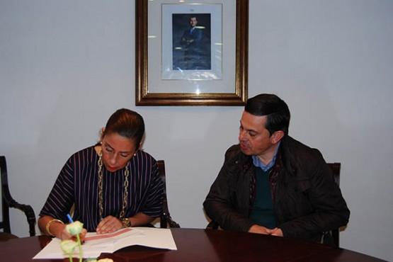Marisol Díaz continúa coas reunións con alcaldes