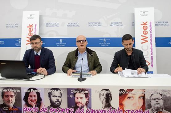 Tecnoloxía, música, gastronomía e cultura serán as propostas da Ourense ICC Week 2017