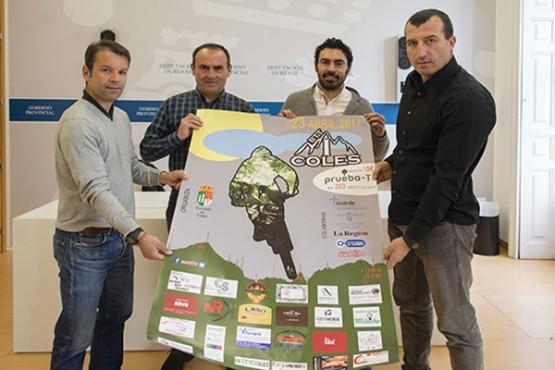 A Deputación de Ourense apoia a primeira proba ciclista BTT en Coles, cun percorrido de 42 quilómetros