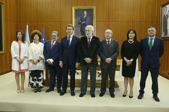 Acto conmemorativo do aniversario do Consello de Contas de Galicia