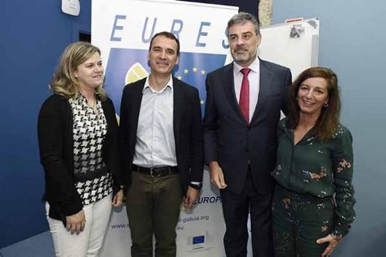 A colaboración dos servizos públicos de Galicia e norte de Portugal impulsa o emprego na Eurorrexión
