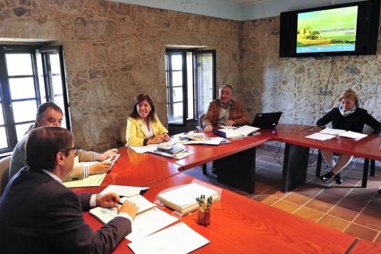 A conselleira Beatriz Mato na reunión do consello. Foto: M. Fuentes