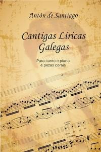 """Antón de Santiago  presenta o libro """"Cantigas Líricas Galegas""""  no CGAC compostelán"""