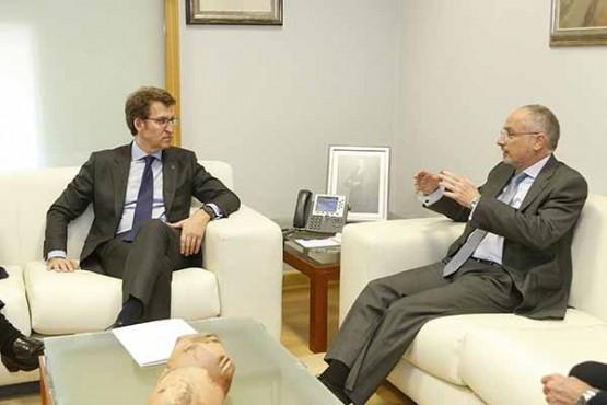 O titular da Xunta reúnese co embaixador de Israel en España