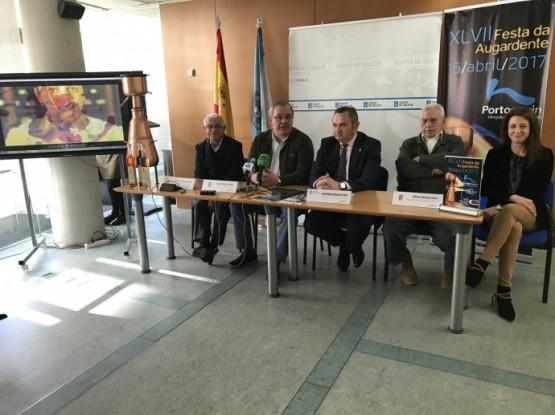 A Festa da Augardente de Portomarín preséntase na Delegación Territorial da Xunta en Lugo
