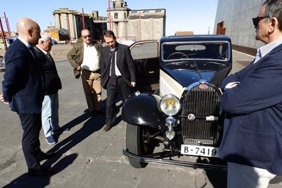 Xoias automobilísticas no Rally do Descubrimento en Vigo