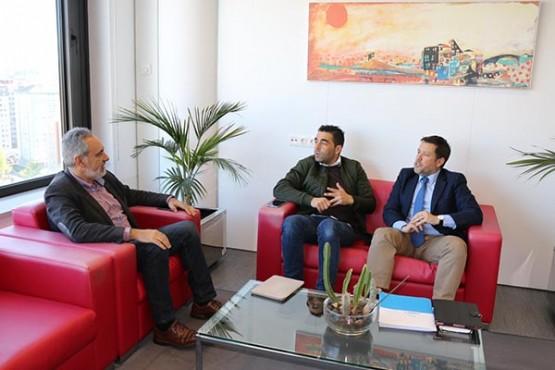 Cores Tourís na reunión co alcalde de Rodeiro