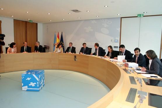 Reunión do Consello da Xunta