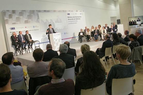 A Xunta e as universidades galegas presentan unha estratexia para mellorar a calidade formativa do profesorado