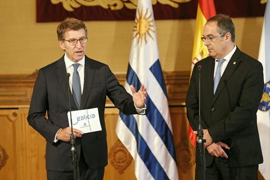 O titular da Xunta valora a confianza do Goberno de Uruguai nas empresas galegas