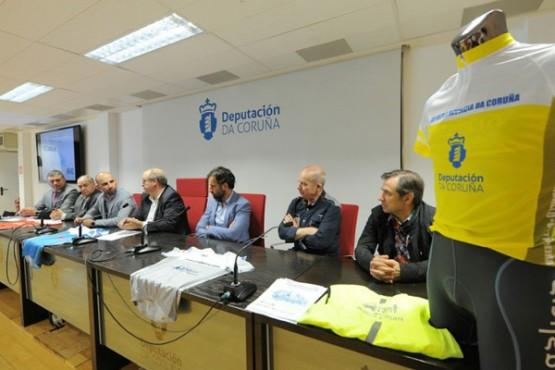 Presentación da XVI Volta Ciclista á Provincia da Coruña