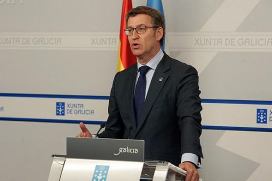 Rolda de prensa do titular da Xunta.