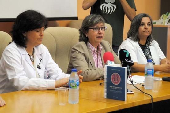 Rosa Quintana na presentación da publicación