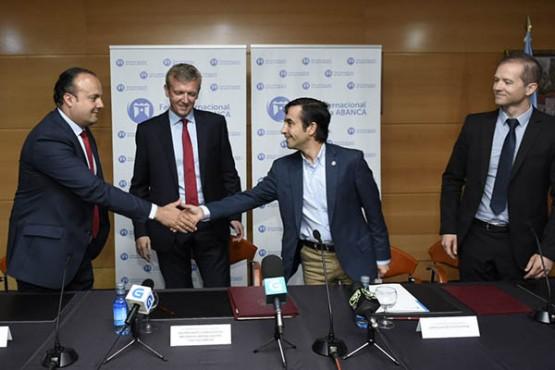 Sinatura do acordo entre a Xunta e a Fundación Semana Verde