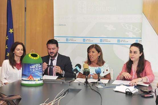 A Xunta lanza unha campaña de eventos sostibles para mellorar as cotas de reciclaxe e fomentar condutas respectuosas