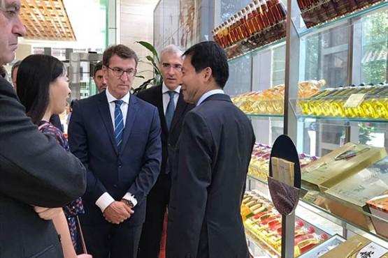 O maior provedor de produtos agrícolas chinés visitará Galicia para coñecer a calidade do sector agroalimentario galego