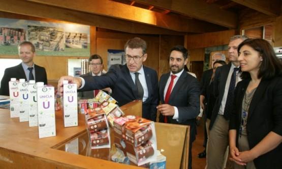 O presidente da Xunta na visita á Semana Verde