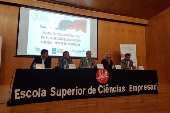 Francisco Conde aposta por fortalecer a economía social entre Galicia e Portugal a través do programa Laces