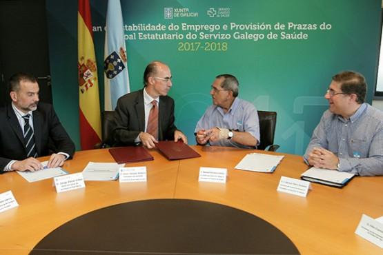 A consellería de Sanidade e a Federación Galega de Irmandades de Doadores de Sangue colaboran no fomento da hemodoazón