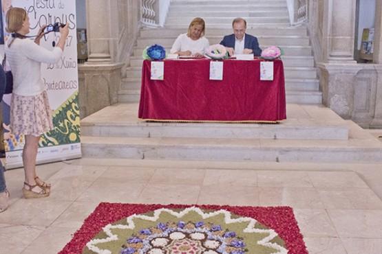 """As festas do Corpus Christi de Ponteareas preséntanse como reunión """"de cor, tradición e historia"""""""