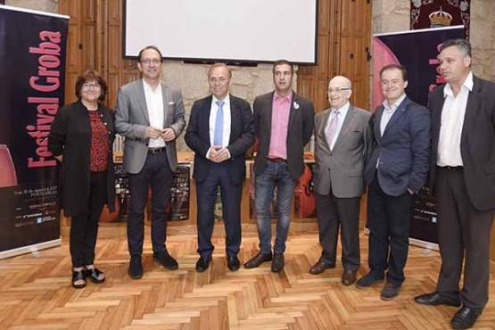 Prestixiosos intérpretes galegos e internacionais participan no festival Groba do 11 ao 18 de agosto