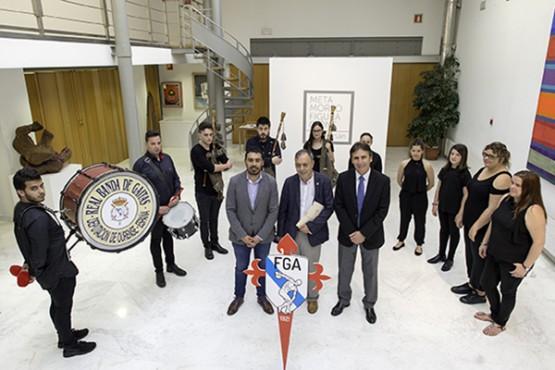 Preséntase o himno da Federación Galega de Atletismo