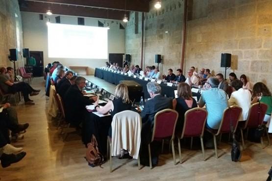 Reunión do comité en Leiro