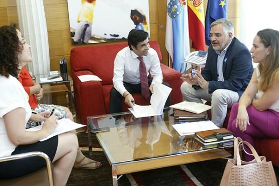 A Xunta consolida o seu apoio a Autismo de Galicia para superar barreiras en prol da inclusión