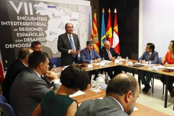 O conselleiro de Política Social participa en Teruel no VII Foro de Rexións con Desafíos Demográficos (FREDD)
