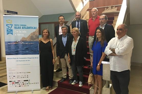 A Xunta apóiase nos eventos deportivos para promover o patrimonio natural da comunidade