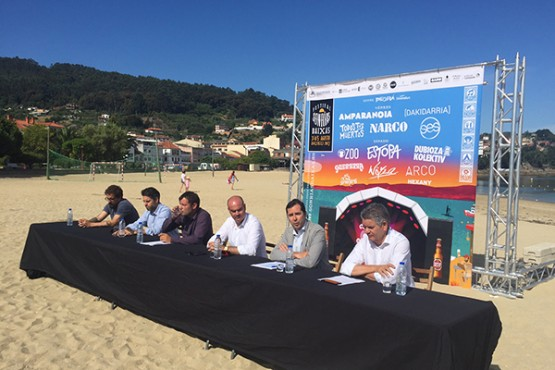 O festival SonRías Baixas de Bueu chega ao seu 15º aniversario con 15 bandas en cartel