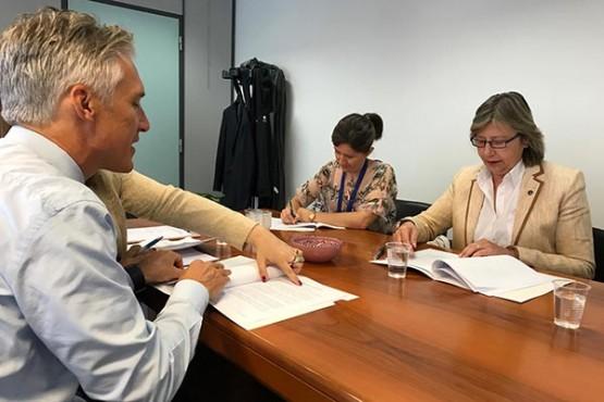 A Xunta defende as demandas da frota de baixura galega sobre o botiquín que debe levar a bordo dos buques