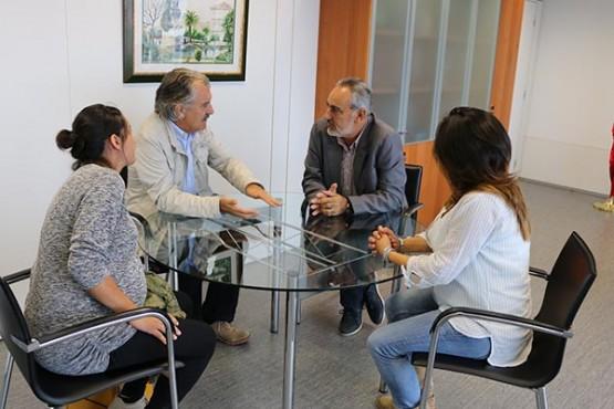 Cores Tourís na reunión co alcalde de Caldas de Reis