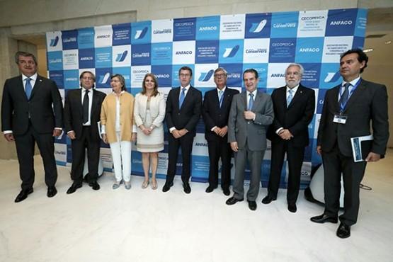 O titular da Xunta na inauguración da VIII Conferencia Mundial do Atún