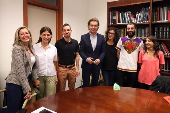 A Xunta recibe os cooperantes que se incorporarán aos seus destinos en Iberoamérica e África