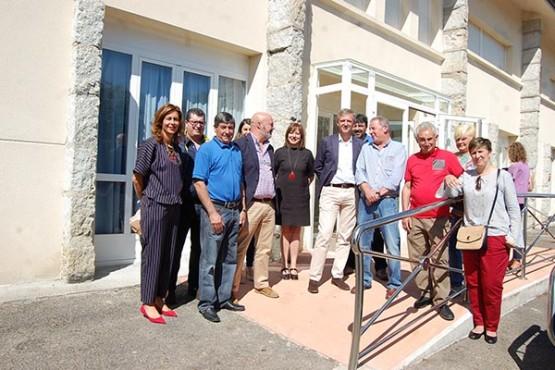 Alfonso Rueda na visita ao CIM da Mancomunidade Conso-Frieiras