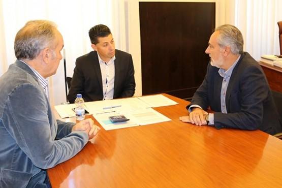 Cores Tourís na reunión co alcalde de Ponte Caldelas