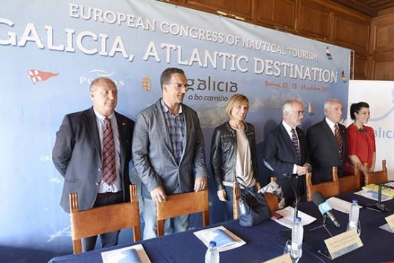 Galicia acolle un congreso europeo para promover a Comunidade galega como destino de turismo náutico
